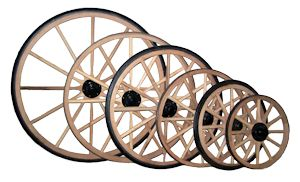 Carriage Wheels, Cart Wheels, Buggy WHeels