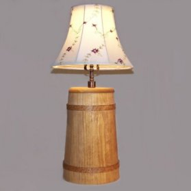 Click To View Large Image Of Butter Churn Lamp
